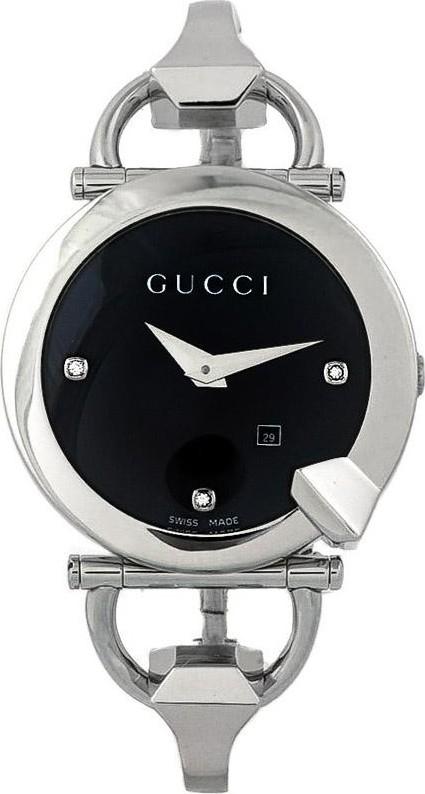 28ba0d9e083 Gucci YA122507 122 Chiodo Women s Diamond Watch 35mm