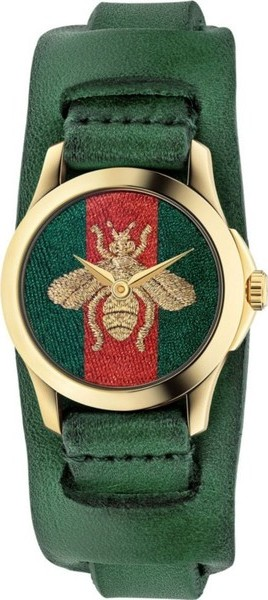 Gucci G-Timeless Red and Green Watch 27mm