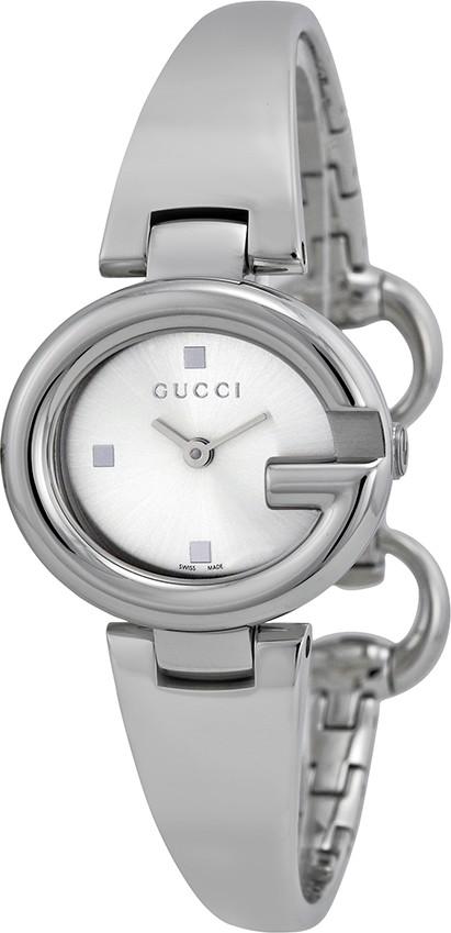 9eceb3fbd7d GUCCI YA134502 GUCCISSIMA Silver Steel Ladies Watch 27mm