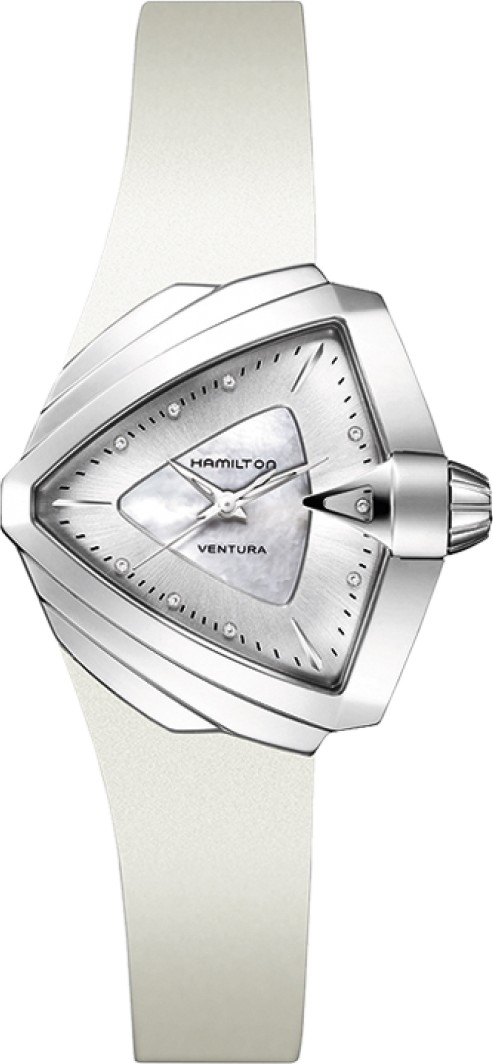 Hamiltom Ventura Mother of Pearl Watch 34.5mm x 38mm