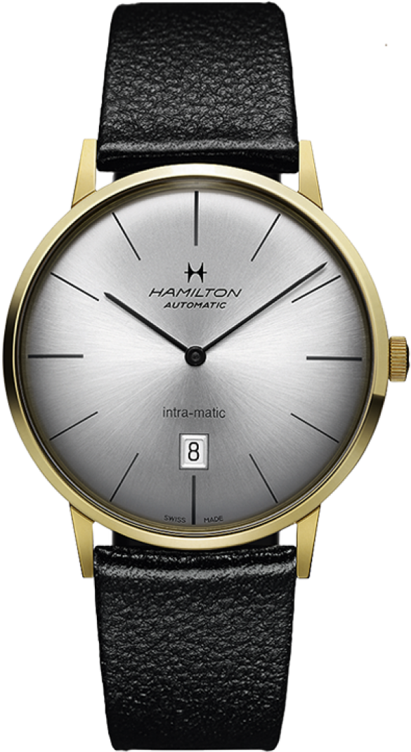 Hamilton Intra-Matic Automatic Yellow Gold Pvd 42mm