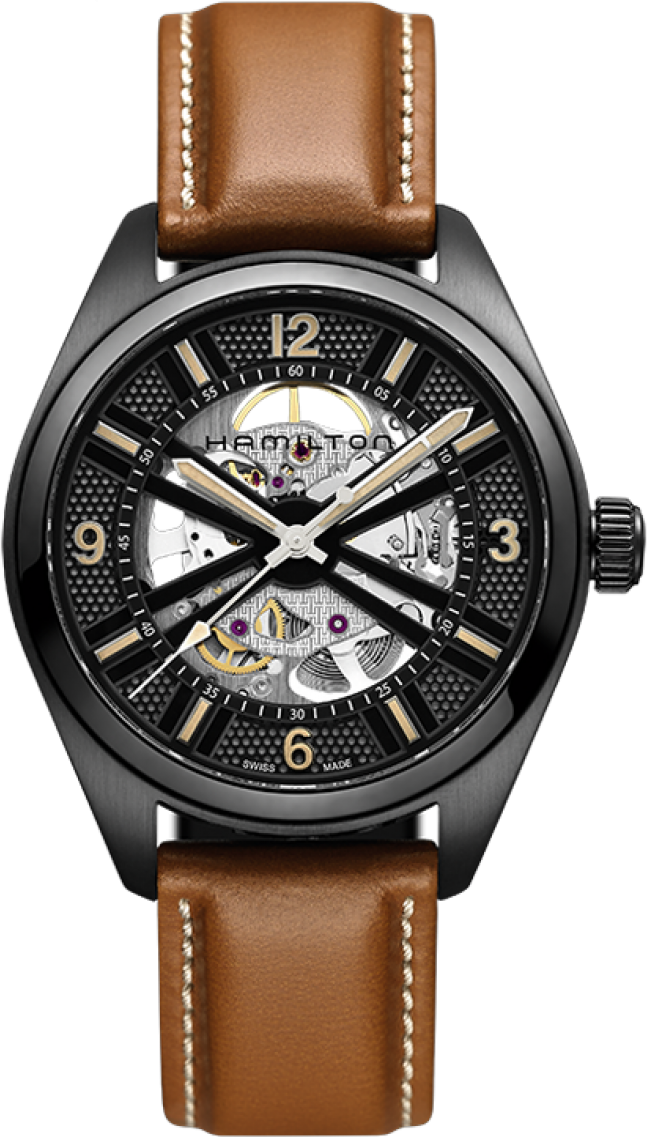 Hamilton Khaki Field Skeleton Watch 42mm