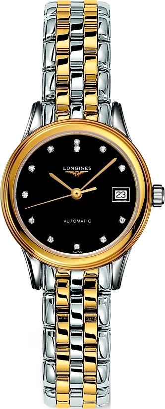 Longines Flagship L4.274.3.57.7 Auto Ladies Watch 26mm
