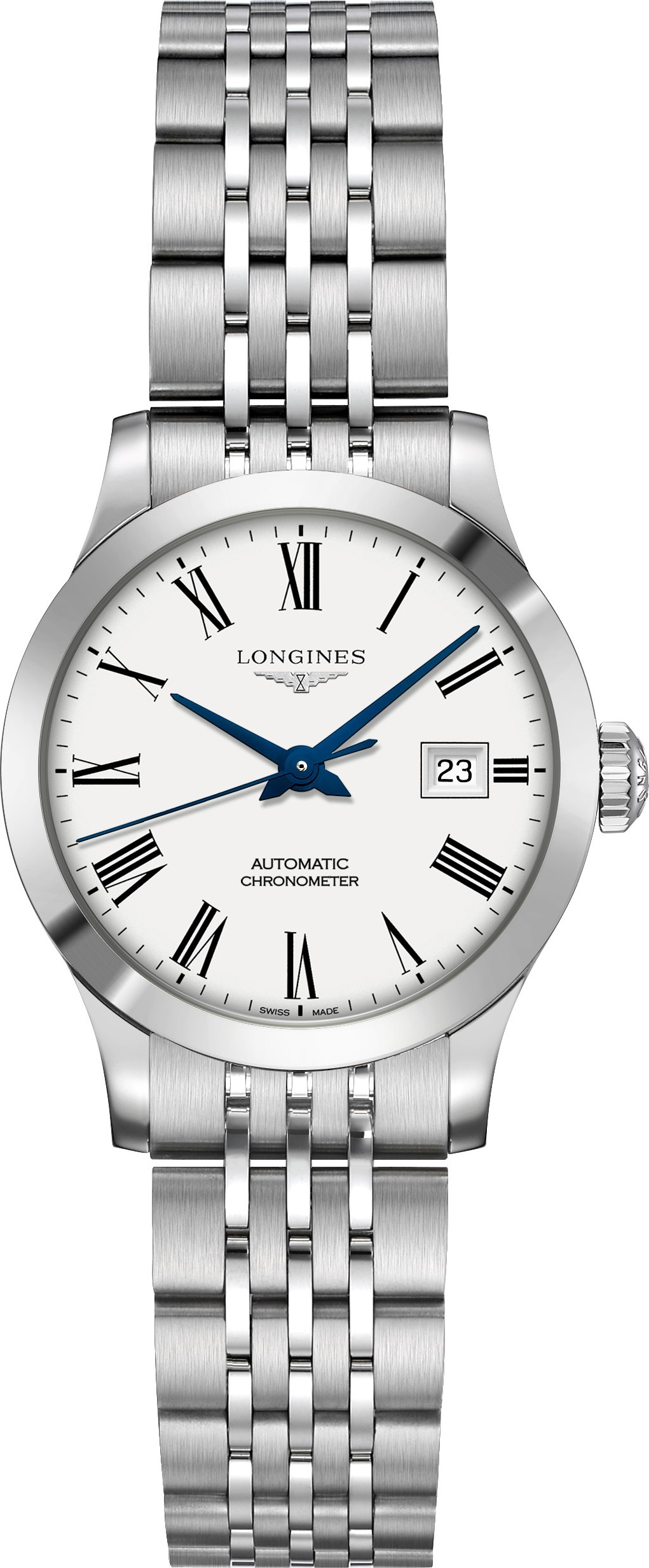 Longines L2.321.4.11.6 Record Watch 30mm