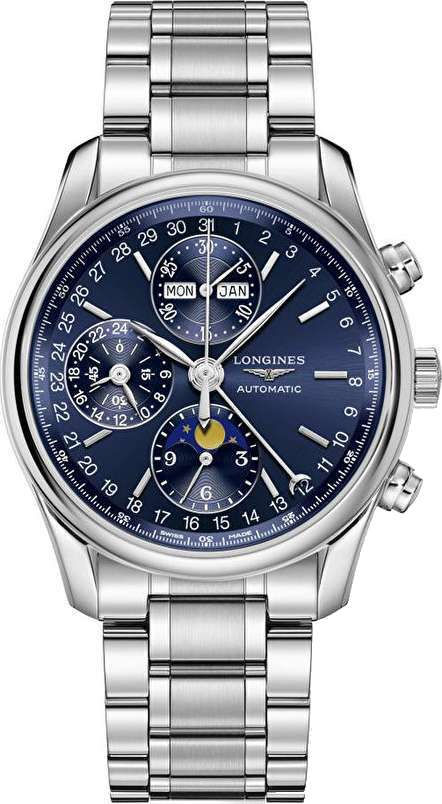 Longines Master L2.673.4.92.6 Complications Mens Watch 40mm