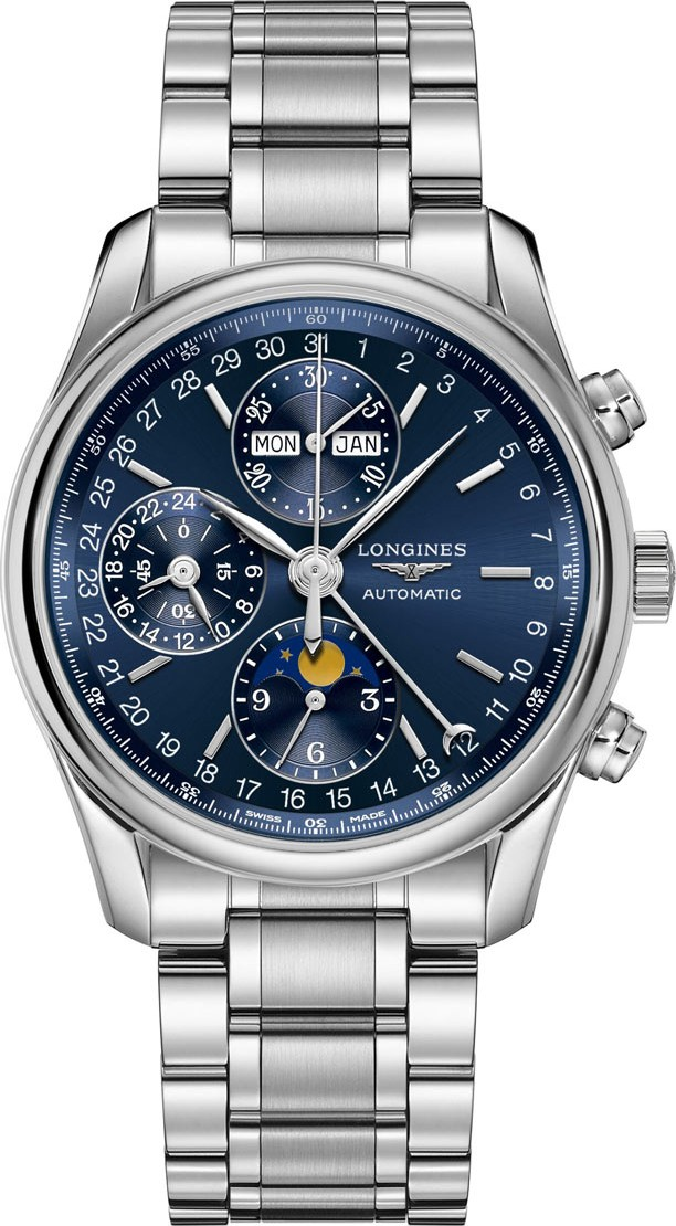 Longines Master L2.673.4.92.6 Complications Watch 40mm