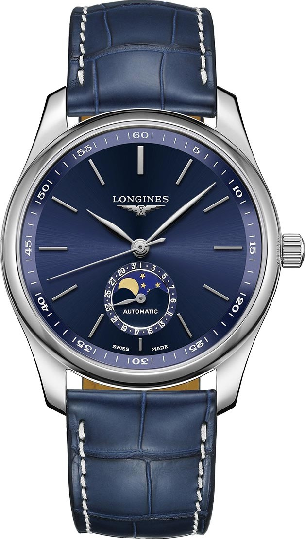Longines Master L2.909.4.92.0 Moonphase 40mm