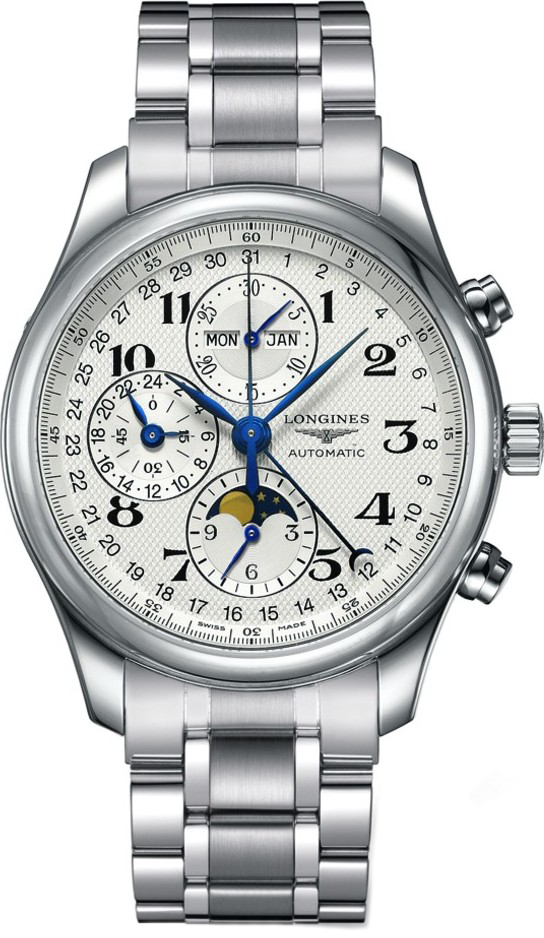 Longines Master L2.773.4.78.6 Moonphase Watch 42mm