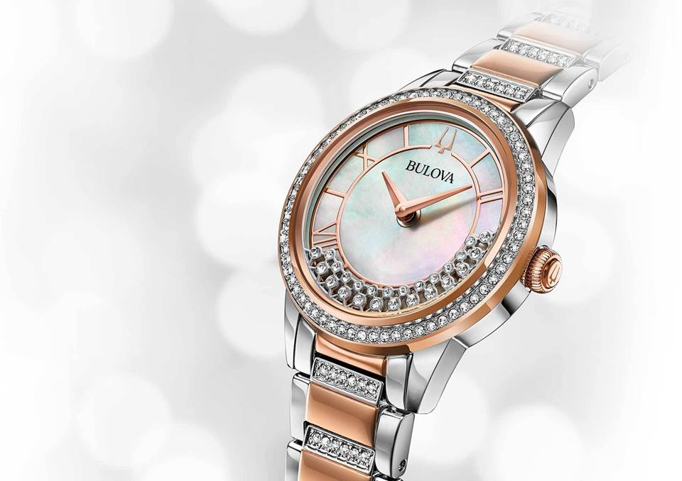 Bulova TurnStyle Collection - Lấp Lánh Ánh Pha Lê