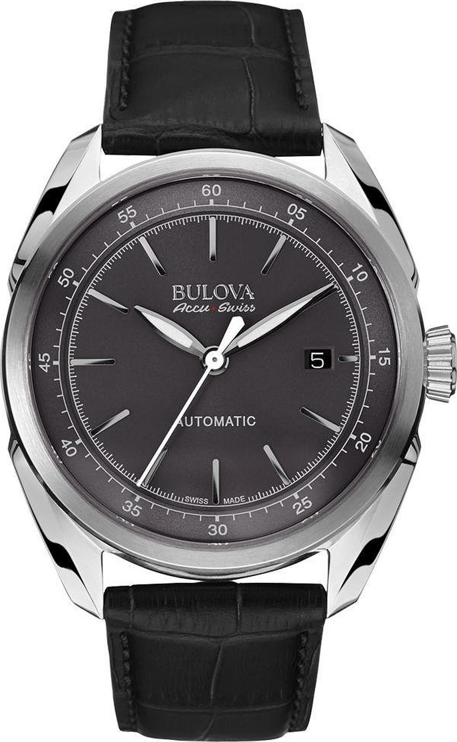 Bulova AccuSwiss Tellaro Automatic Watch 43mm