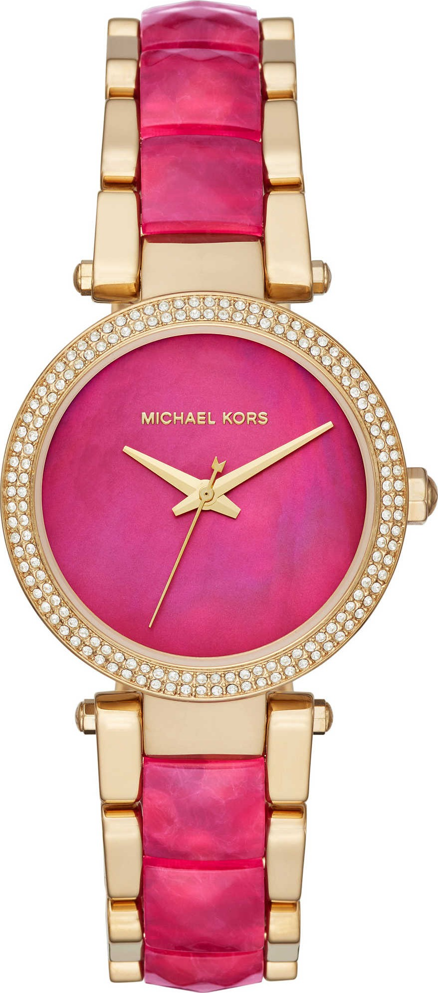 92a5a56ebe3 Michael Kors MK6490 Parker Gold-Tone Watch 33mm