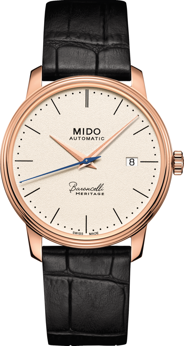 Mido Baroncelli III M027.407.36.260.00 Watch 39mm