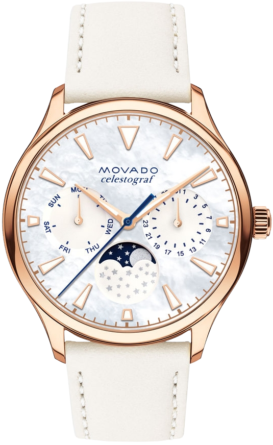 Movado Heritage Series Celestograf Watch 36mm