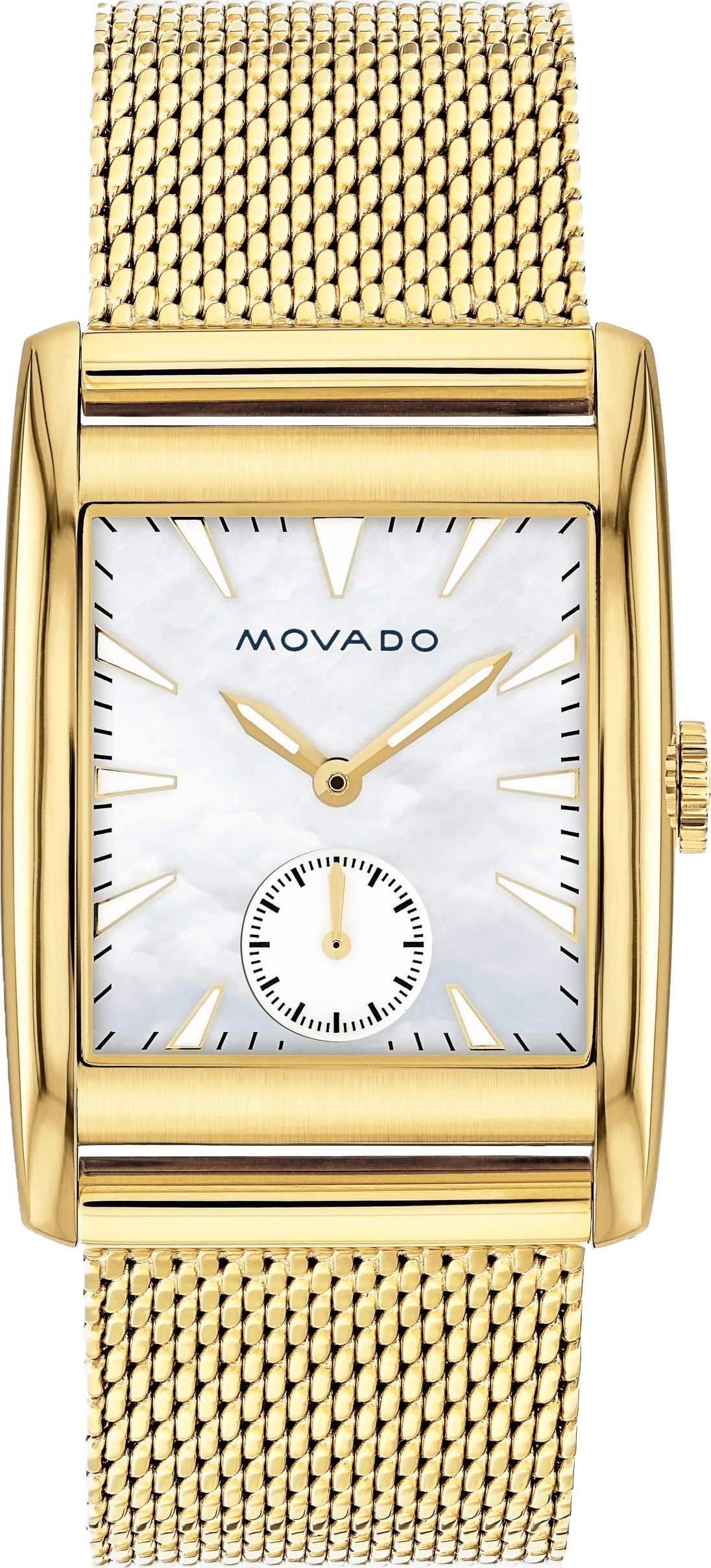 Movado Heritage White Mother of Pearl 38mm