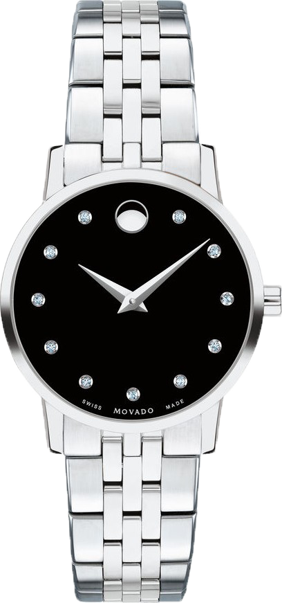 Movado Museum Classic Diamond Watch 28mm