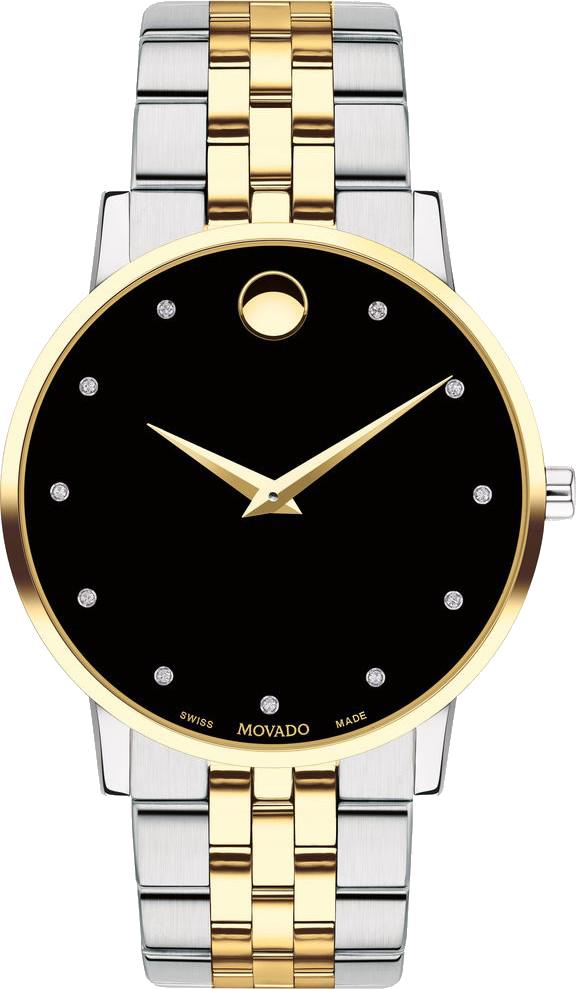 Luxshopping - Movado Museum Classic Diamond Watch 40mm