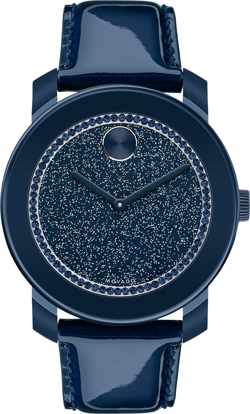 Movado Bold Swiss Pearlized Navy Watch 42mm