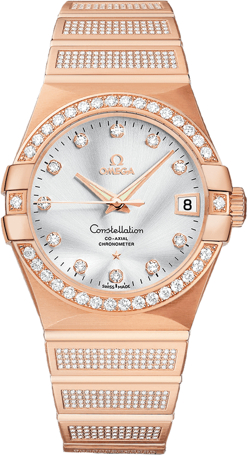 Constellation 123.55.38.21.52.005 Co-Axial Watch 38mm