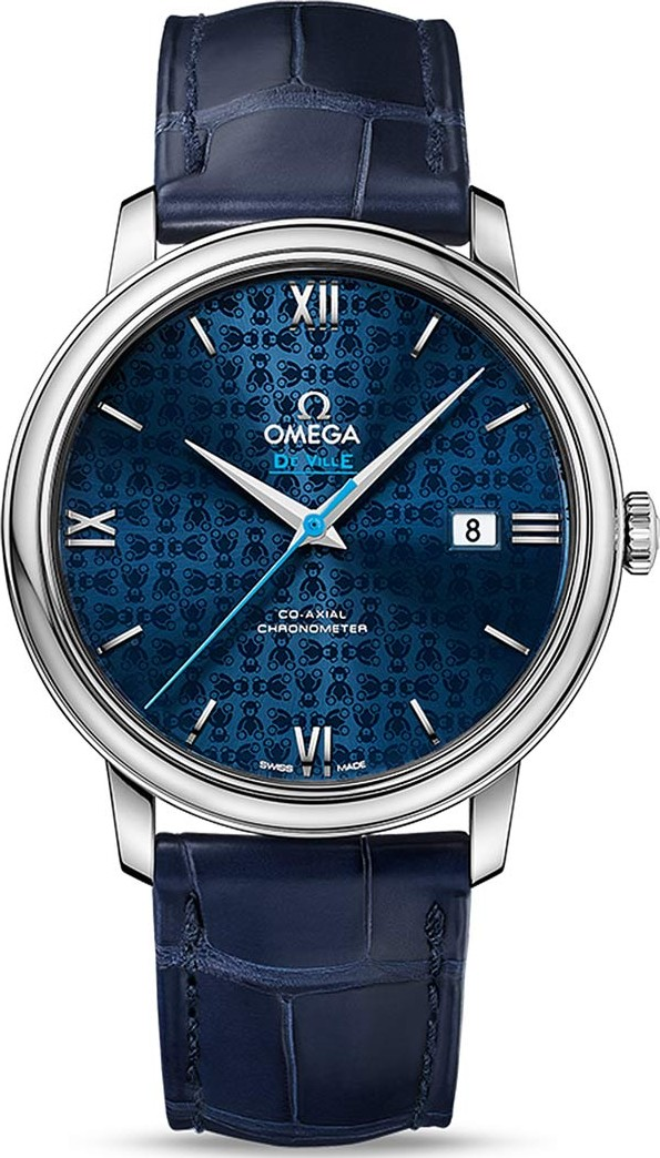 OMEGA 424.13.40.20.03.003 De Ville  Prestige Watch 39.5mm