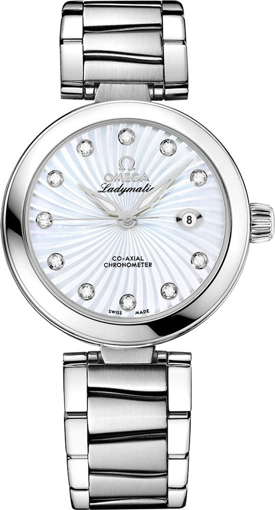 Omega 425.30.34.20.55.001 De Ville Ladymatic Watch 34mm