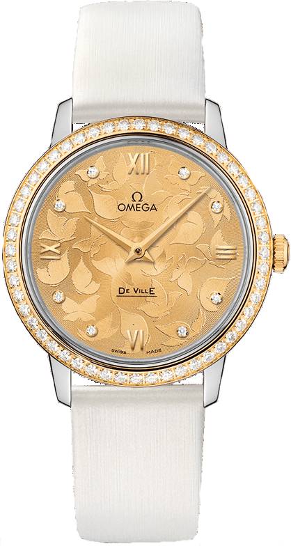 Omega DeVille Prestige 424.27.33.60.58.001 Watch 32.7mm