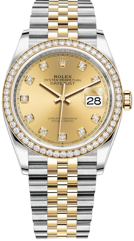 OYSTER PERPETUAL 126283rbr-0003 DATEJUST 36