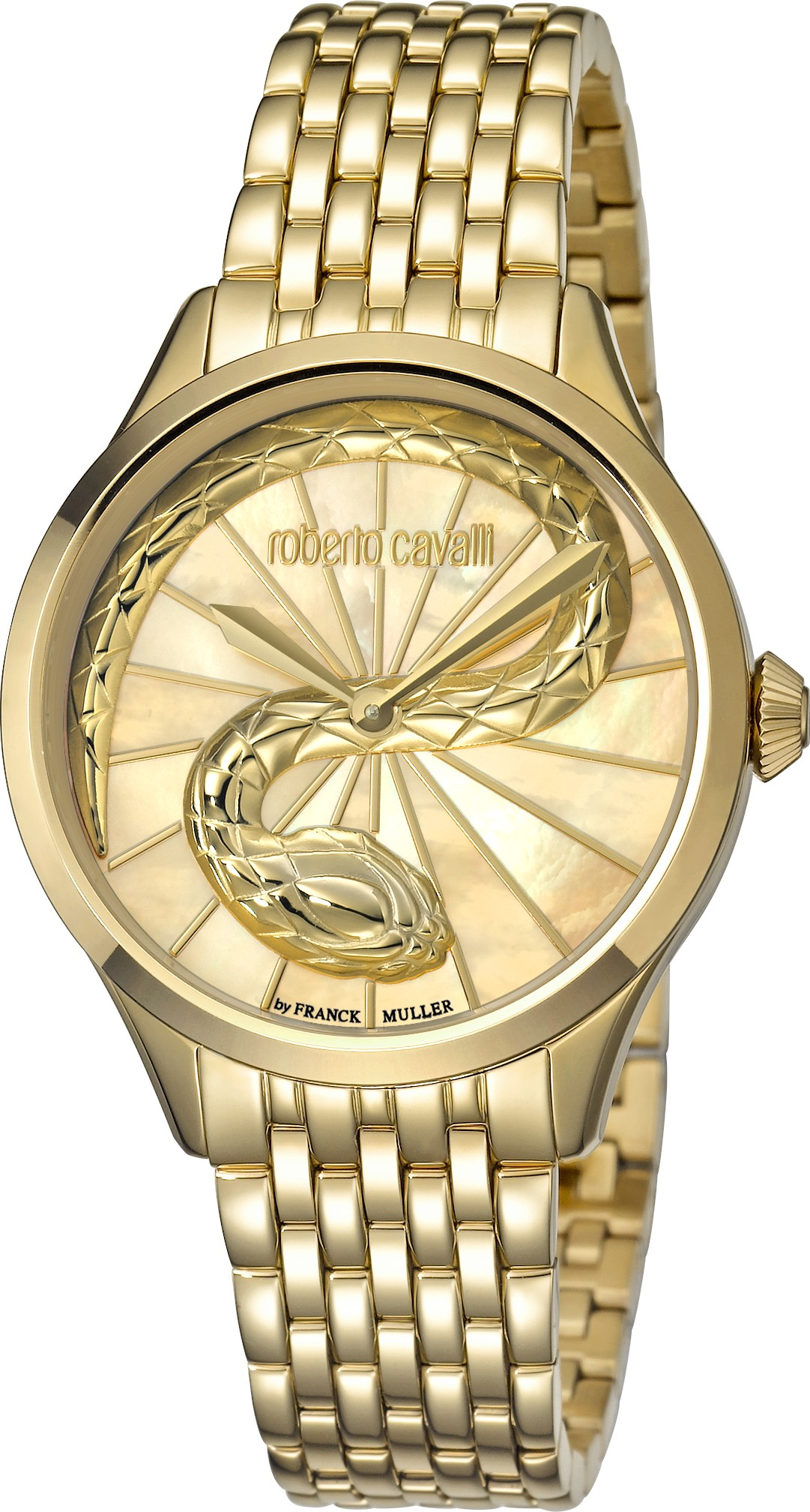 Roberto Cavalli RC-35 Champagne Watch 34