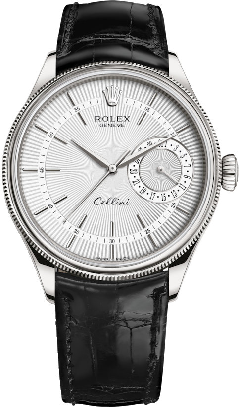 CELLINI 50519-0006 DUAL TIME 39MM