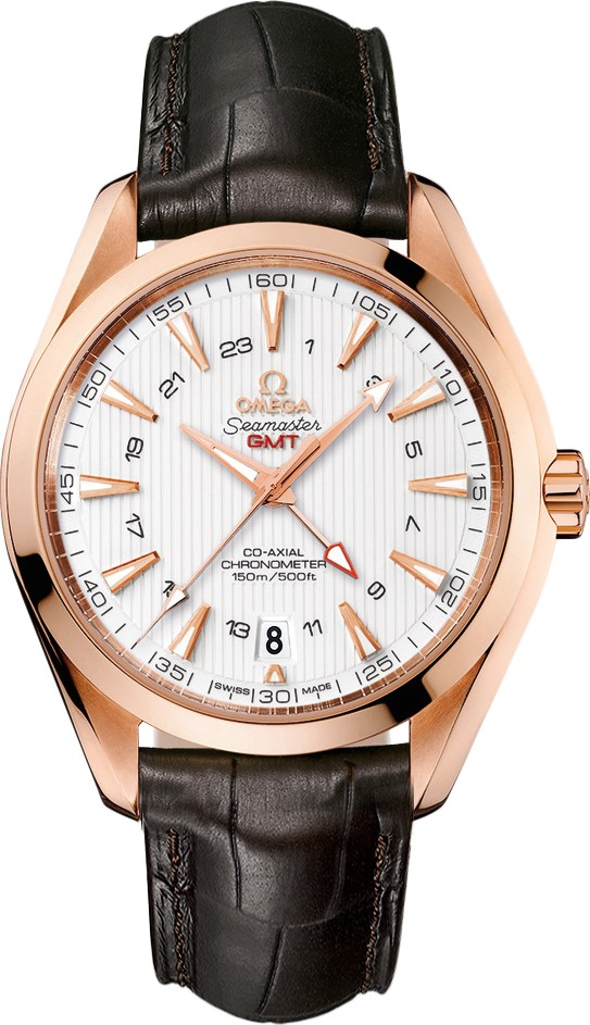 AQUA TERRA 150M 231.53.43.22.02.001 CO‑AXIAL GMT 43