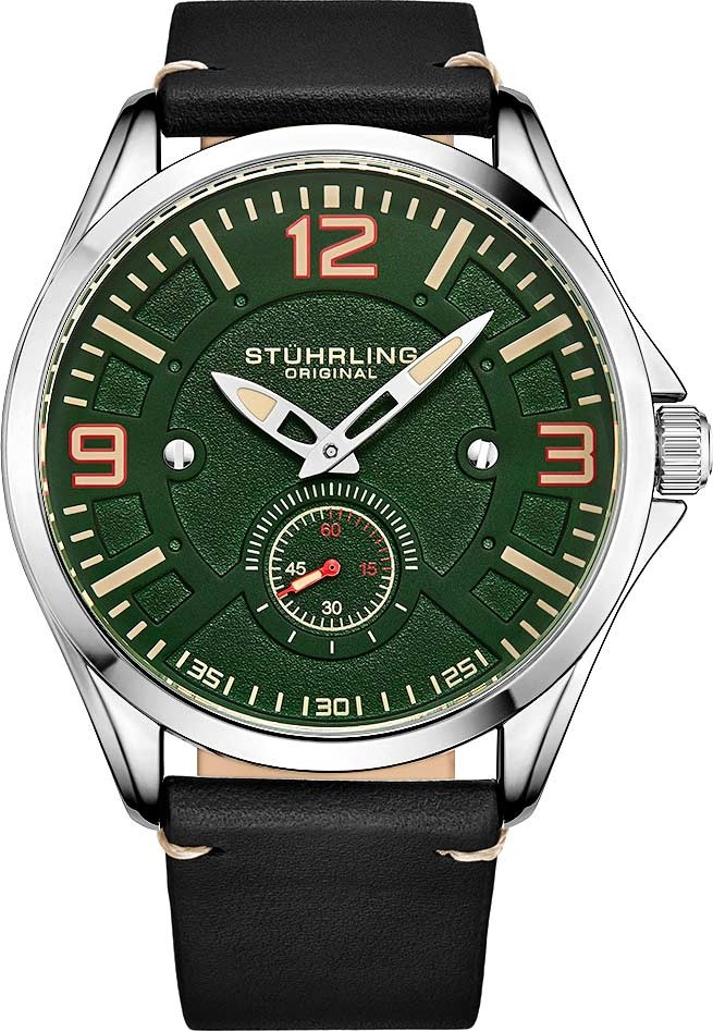 Stuhrling Origina Aviator 3934 Quartz 43mm