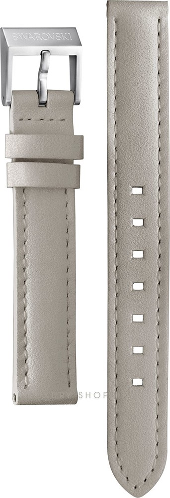 Swarovski Dreamy Grey Leather Strap 14/12