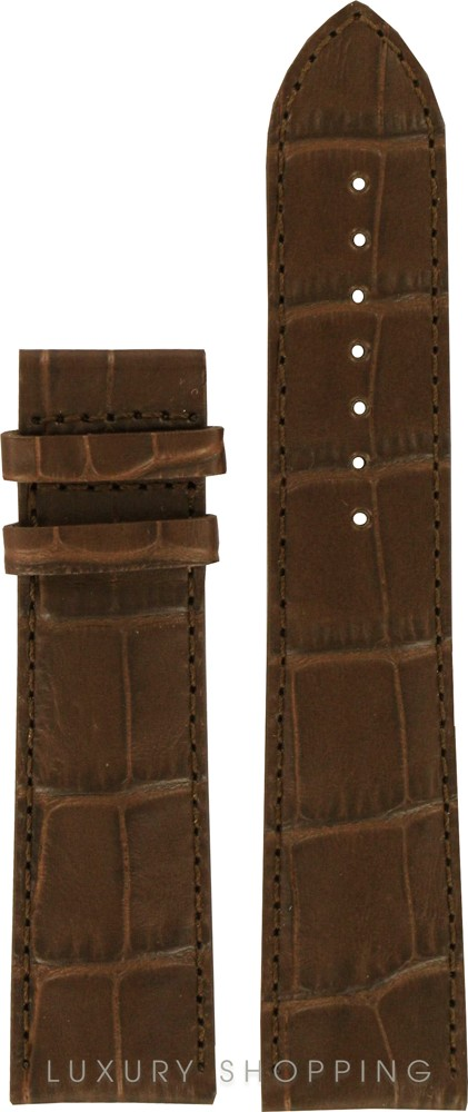 Tissot Luxury XL Brown Leather Strap 22/20mm