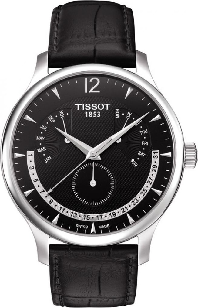 TISSOT Tradition T063.637.16.057.00  Watch 42mm