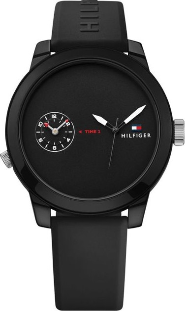 Tommy Hilfiger Watch Cool Sport Black Mens 44mm