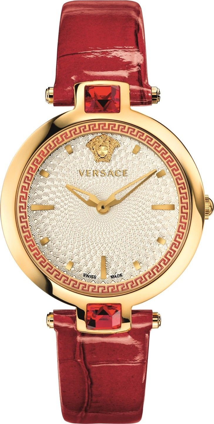 VERSACE Olympo Crystal Gleam Watch 37mm