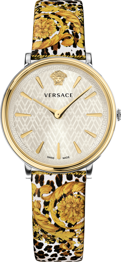 Versace V-Circle Tribute Edition Baroque SS'92 Animal Print 38mm