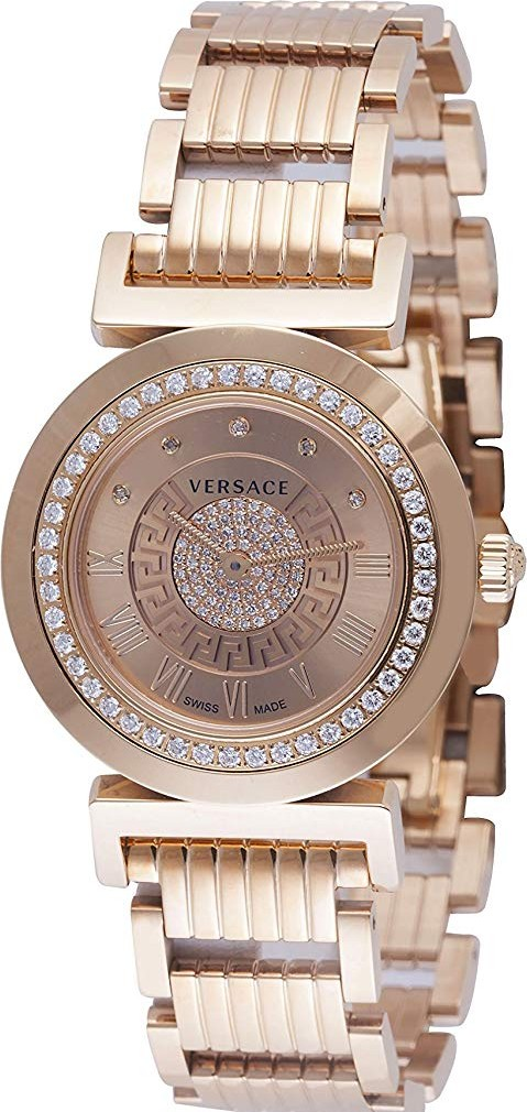 Versace Vanity Analog Display Swiss Watch 34