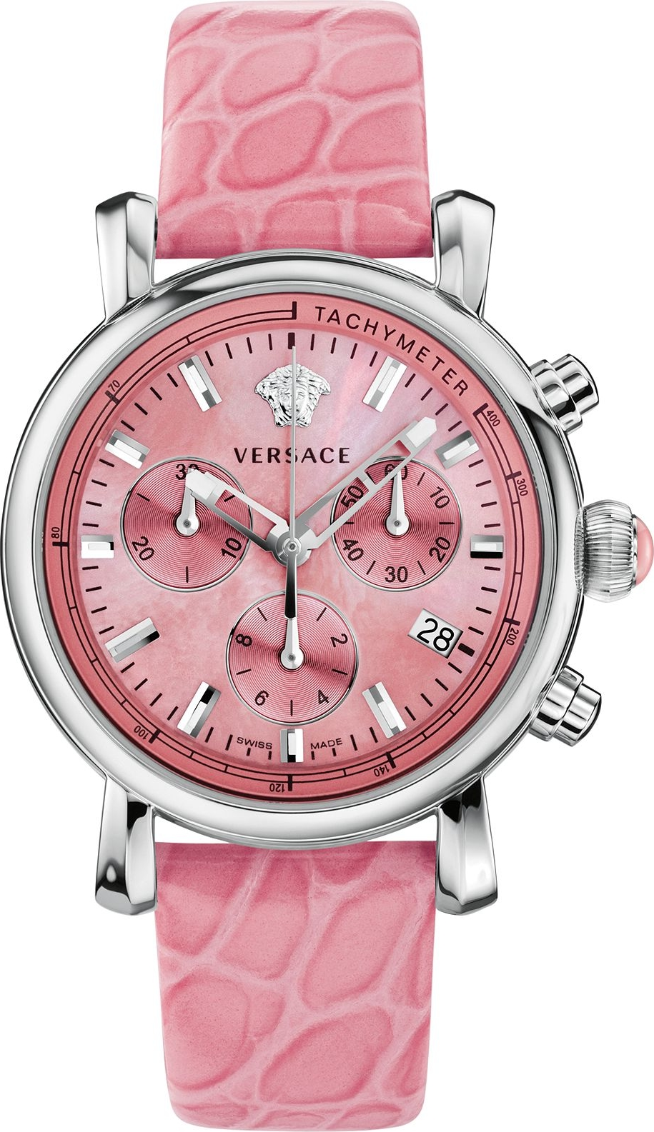 Versace Day Glam Swiss Chrono Watch 38mm