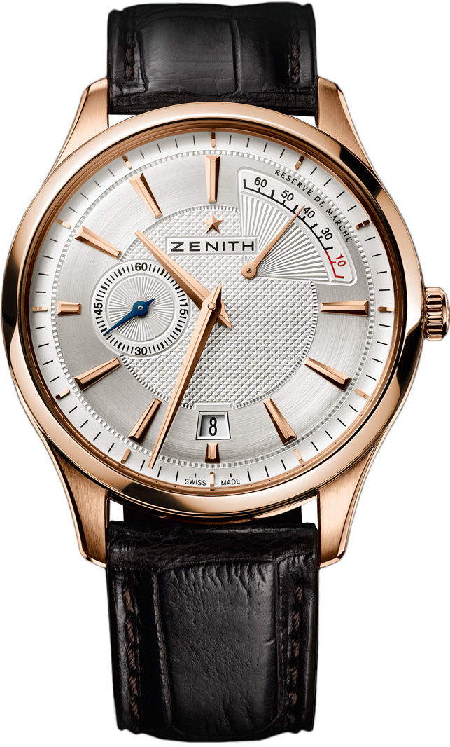 ZENITH Captain Power Reserve 18kt Rose Gold Watch 40mm
