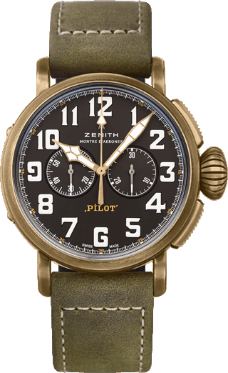 dong ho Zenith Pilot Type 20 Chronograph Watch 45mm