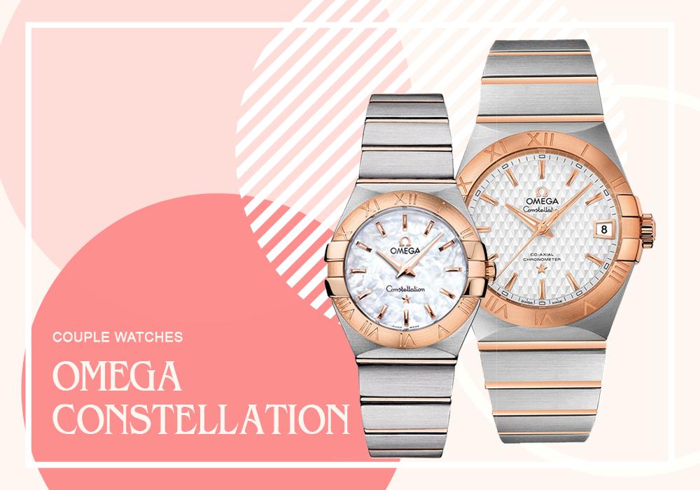 Đồng hồ đôi Omega Constellation