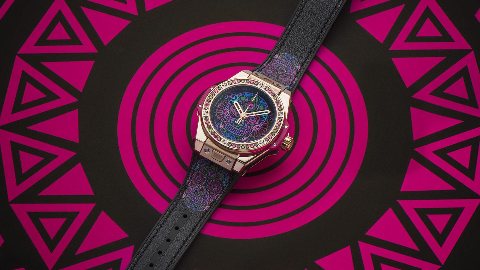 đồng hồ Big Bang One Click Calavera Catrina