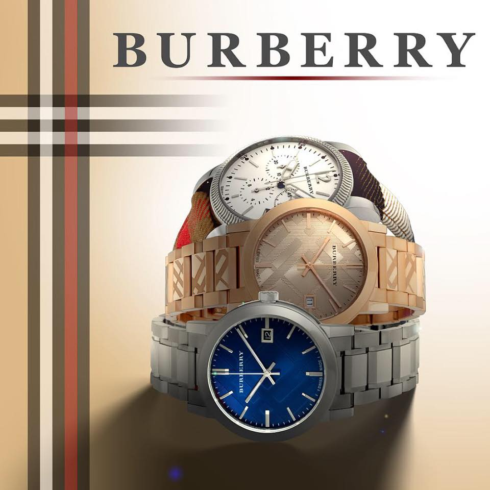 đồng hồ Burberry The City