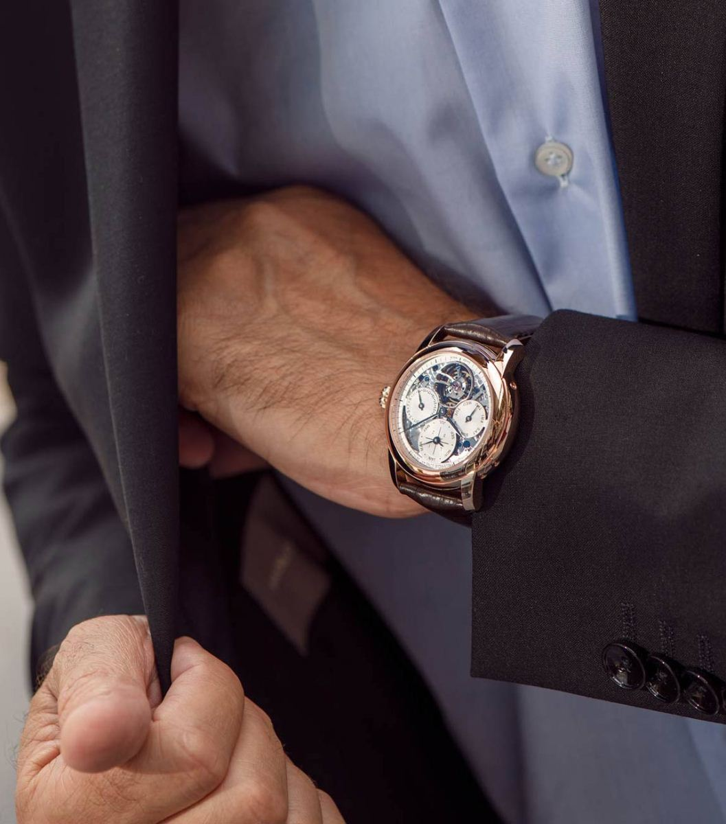 đồng hồ Perpetual Calendar Tourbillon Manufacture