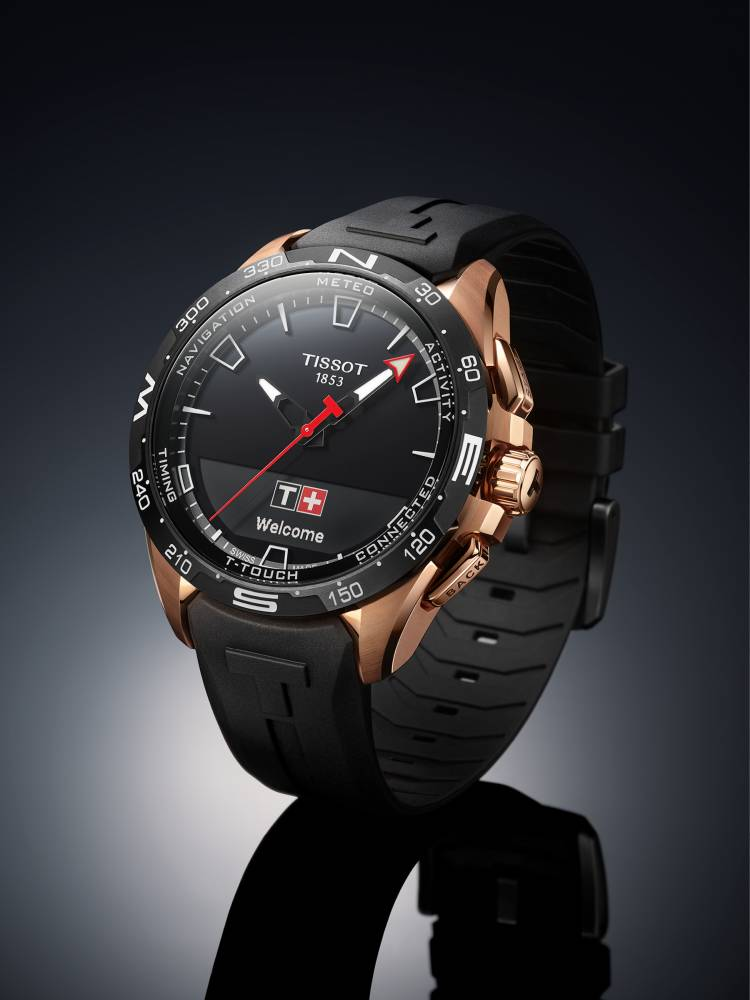 hệ điều hành SwALPS smartwatch Tissot T-Touch Connect Solar