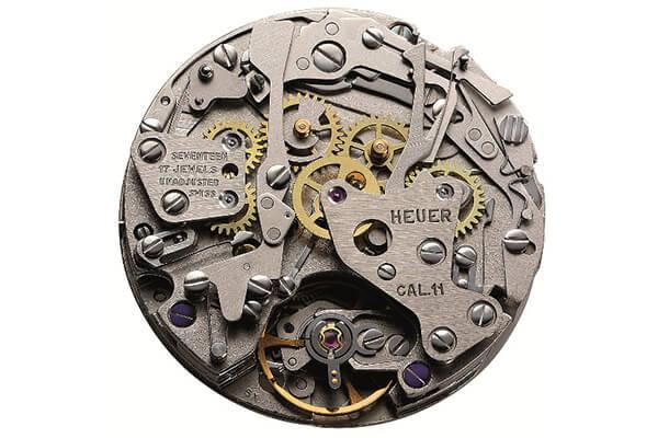 TAG Heuer cho ra mắt chronograph tự động chịu nước đầu tiên