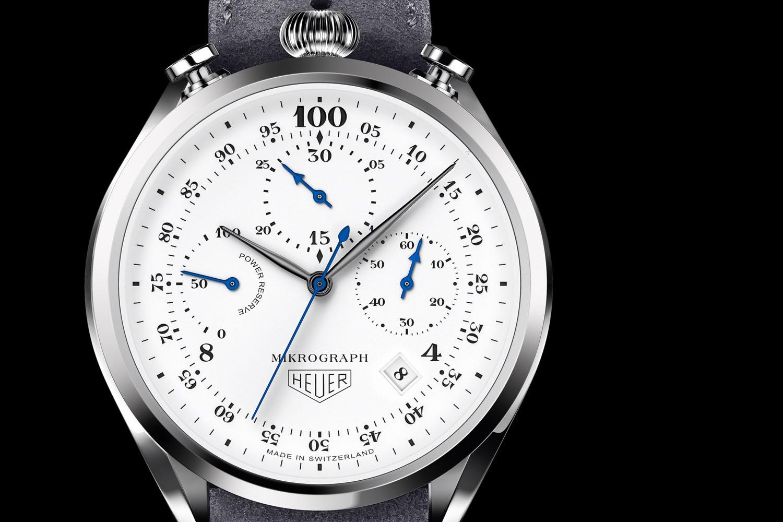TAG Heuer Mikrograph đo thời gian như chiếc đồng hồ bấm giờ đầu tiên trong Thế vận hội Olympic năm 1920