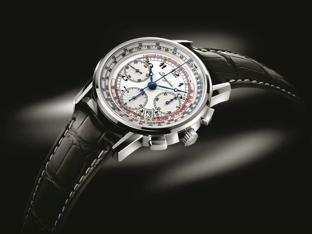 Longines Heritage L2.781.4.13.2 Automatic Tachymeter 41mm