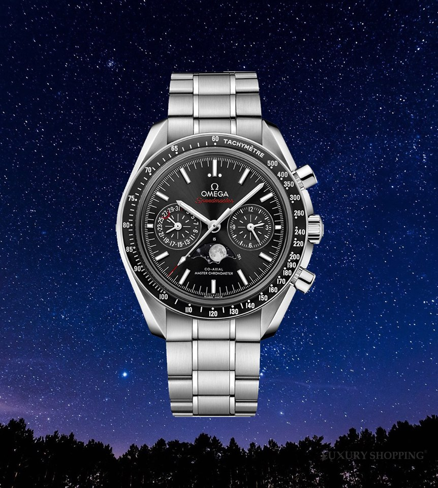 đồng hồ OMEGA 304.30.44.52.01.001 SPEEDMASTER MOONWATCH WATCH 44.25MM