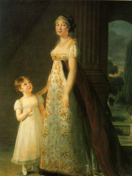 bức tranh Nữ hoàng Naples